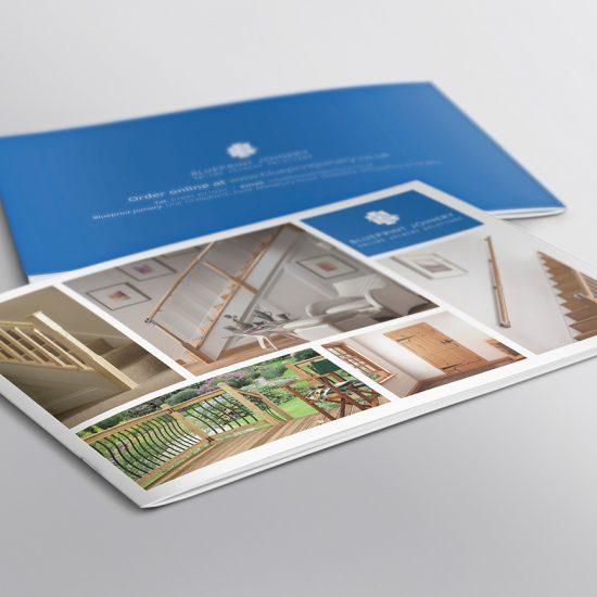 Blueprint Joinery Brochure Design