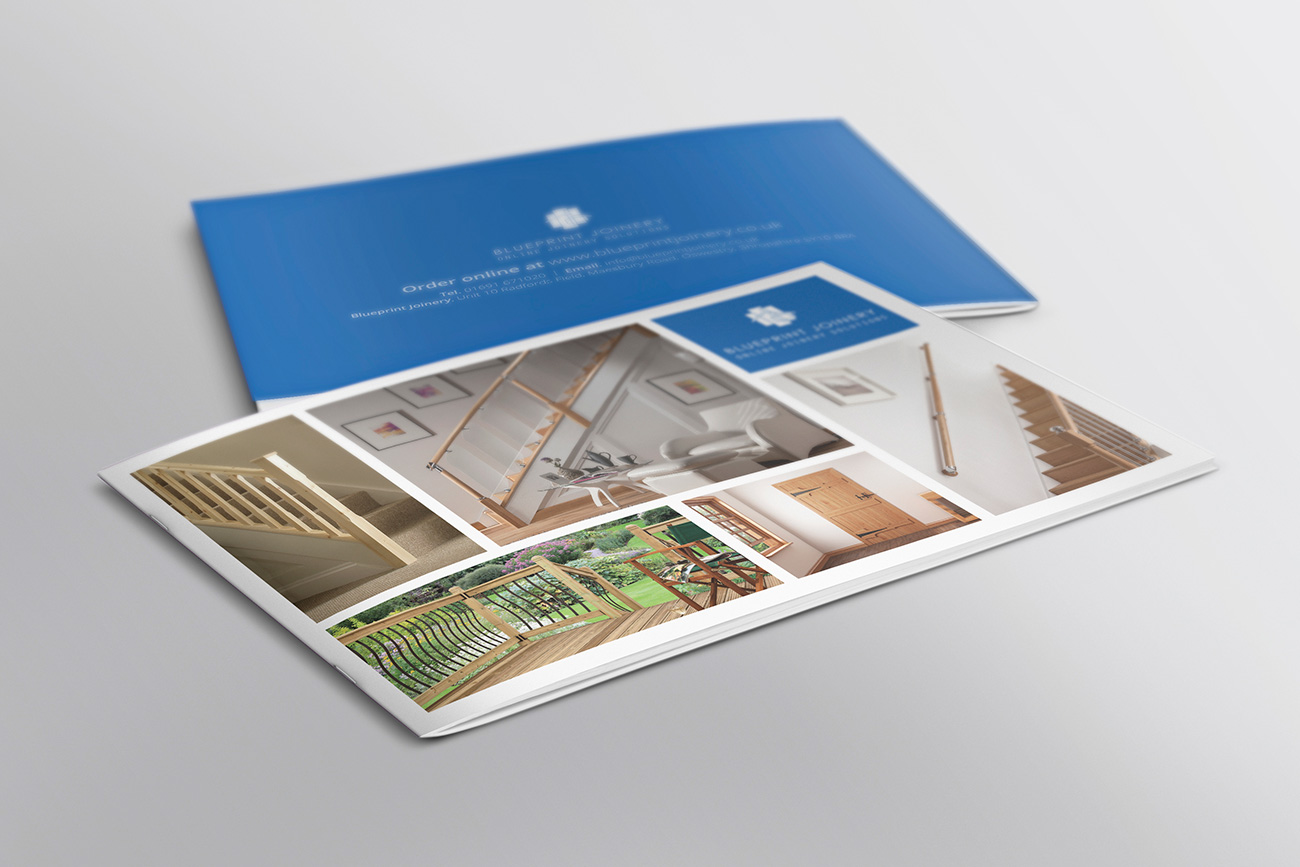 Blueprint Joinery Brochure Design