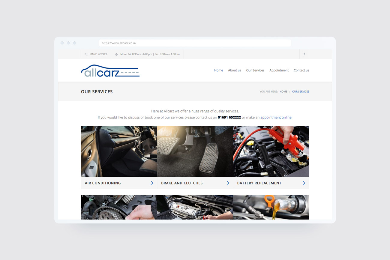 Allcarz Website