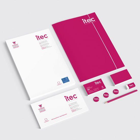 ITEC (Wrexham County Borough Council) Branding