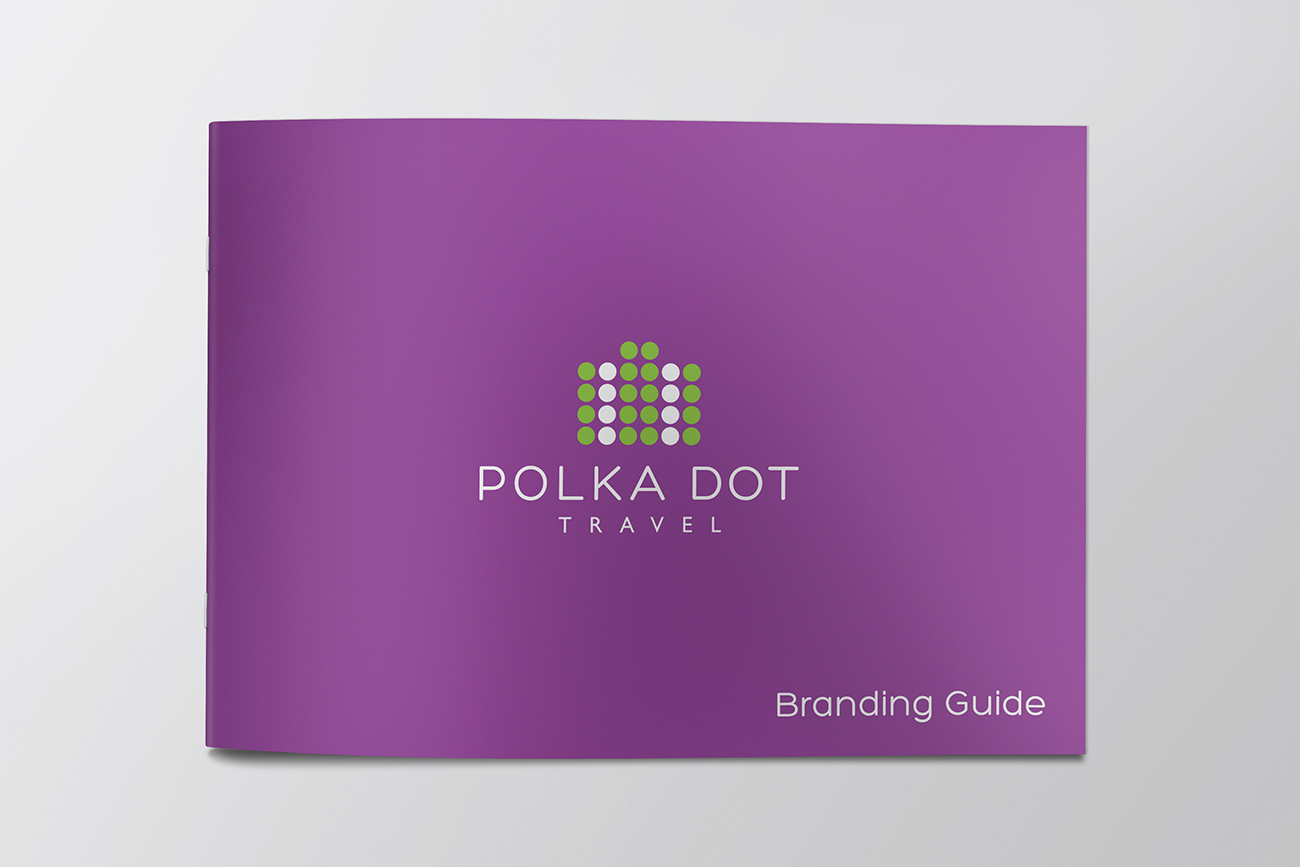 Polka Dot Travel Branding