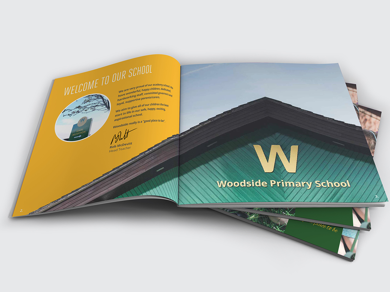 Woodside Primary School Marketing