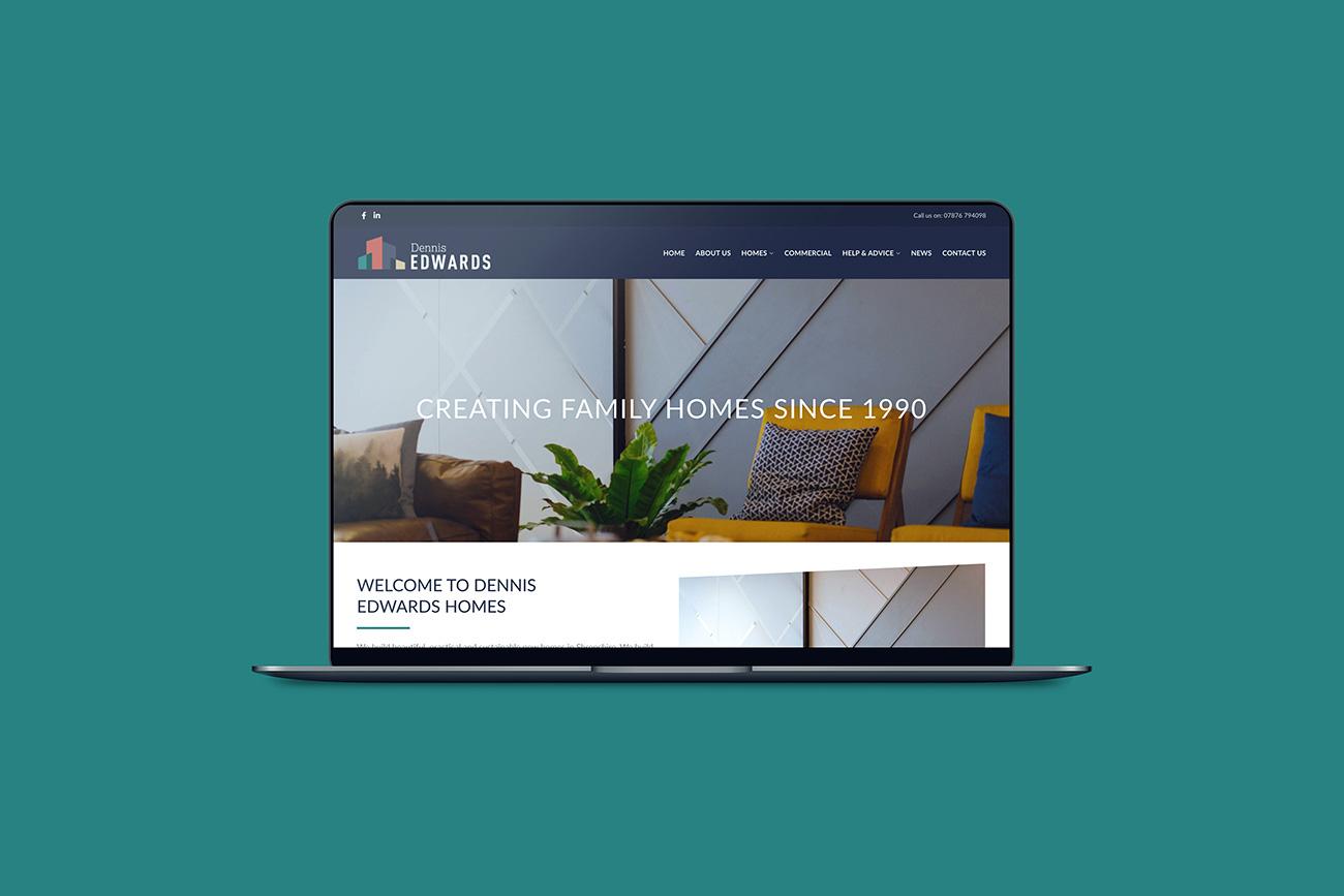 Dennis Edwards Ltd new website